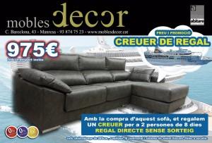 mobles decor- promocion crucero regalo
